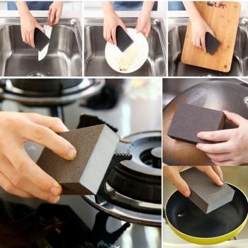 Sponge Carborundum Brush Kitchen 4pcs