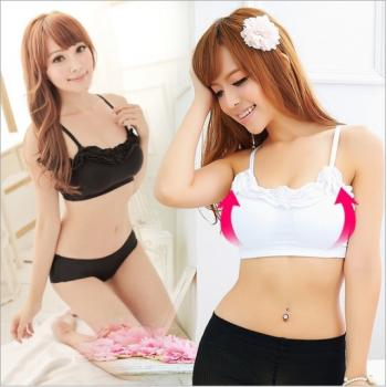 Japan Feeling Touch Night Shaping Bra ♦WHITE♦ Wavy Type