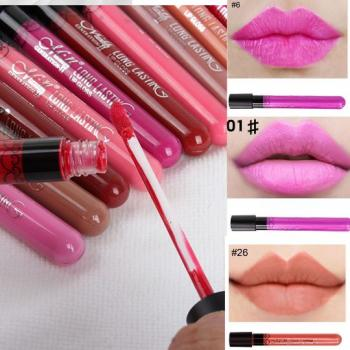 #21--#30 M.N Long Lasting Lip Gloss [11008]