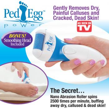 TV HOT Ped Egg Power Electric Foot Callus Remover