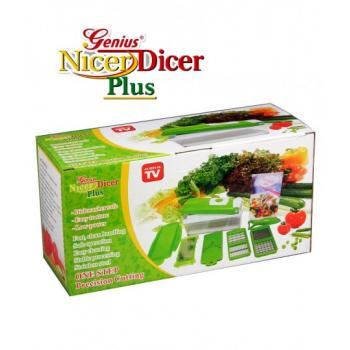 Genius Nicer Dicer Plus~As Seen On TV