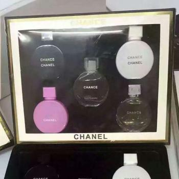 Miniature Chance Chanel Perfume White Box Set