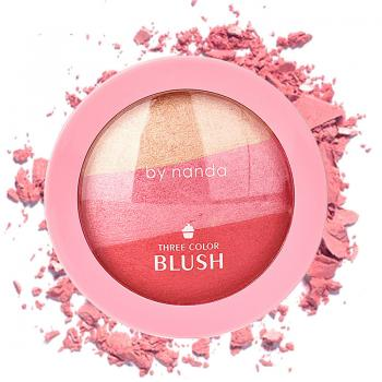 By Nanda Aiskrim Three Colour Blusher
