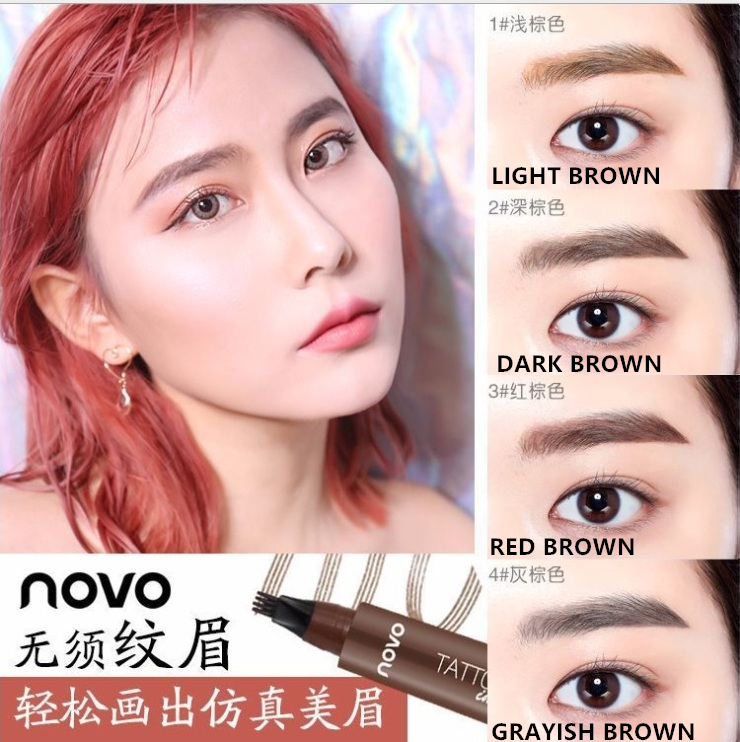 Perfume And Water Tattoo: NOVO Tattoo Brow 2ml(Water Proof)_ EYEBROW_ COSMETICS